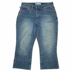 5/$25 | Tyte Vintage Jeans Ankle Crop Denim Capris